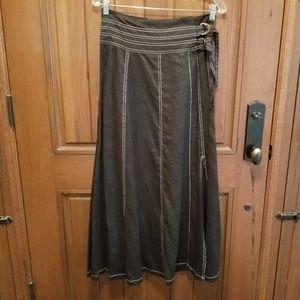 Carole Little Linen Skirt